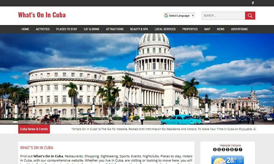 What's On In Cuba