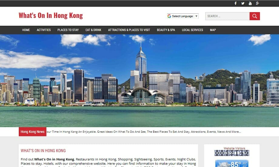 What's On In Hong Kong