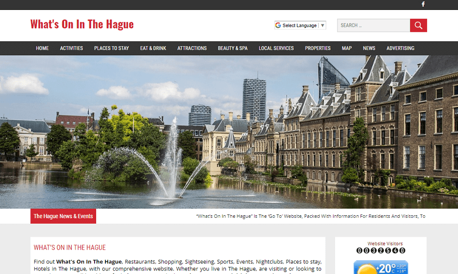 Whats on in Hague