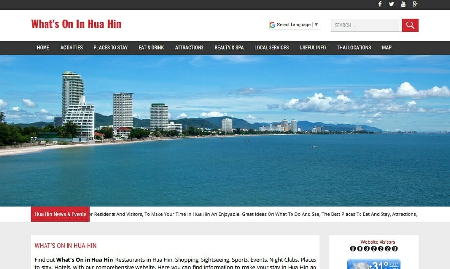 Whats on in Hua Hin