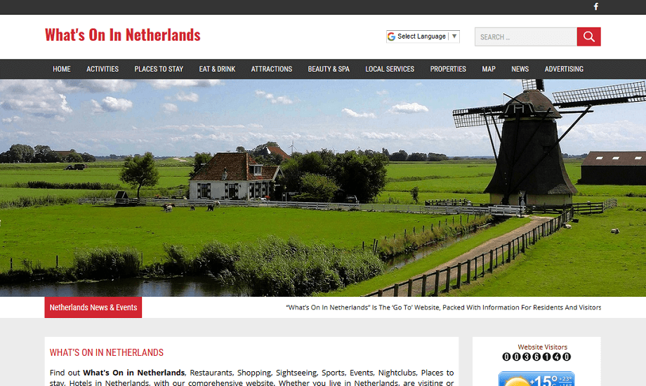 Whats on in Netherlands
