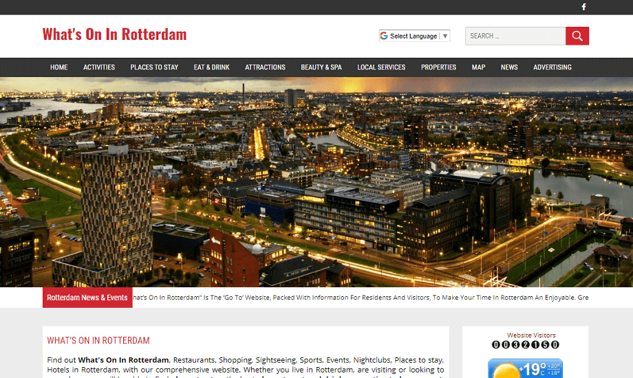 Whats on in Rotterdam