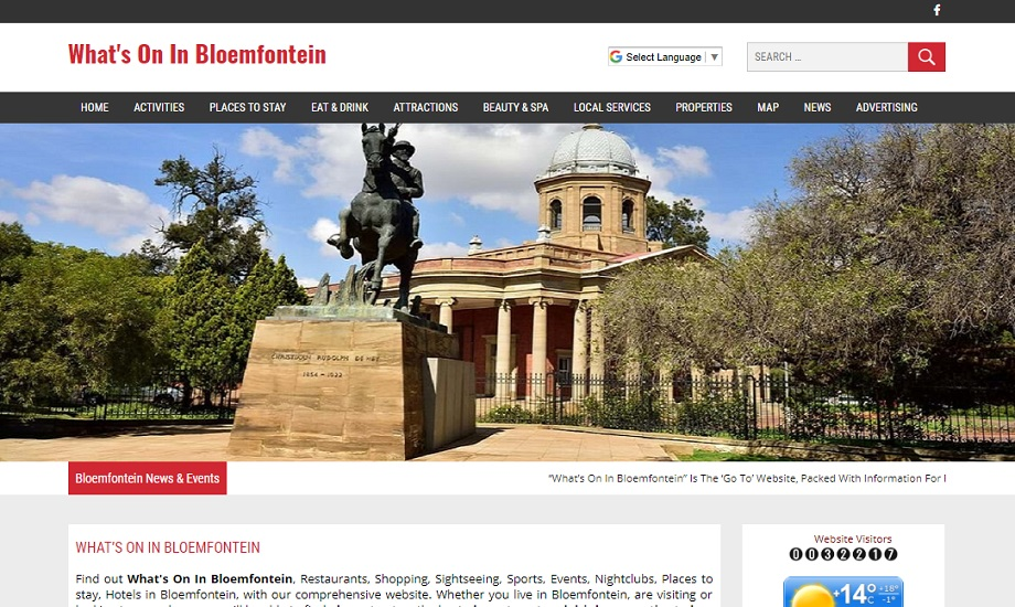 Whats On In Bloemfontein