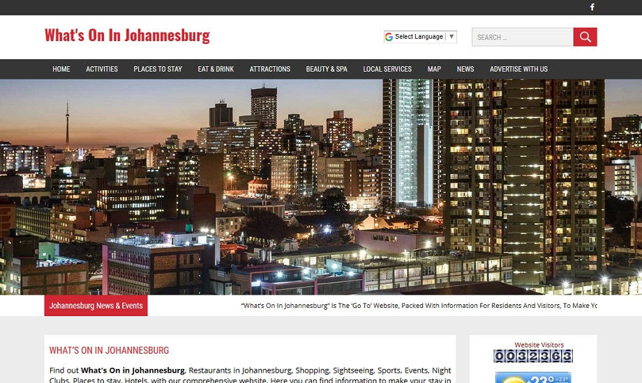 Whats On In Johannesburg