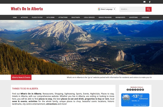 Whats On In Alberta