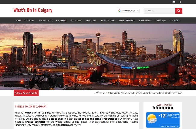 Whats On In Calgary